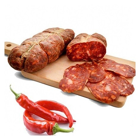 Matured Calabrian Soppressata Gr 350 approx