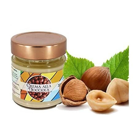 Hazelnut cream very high Torchia pastry without preservatives and without dyes Gr 250