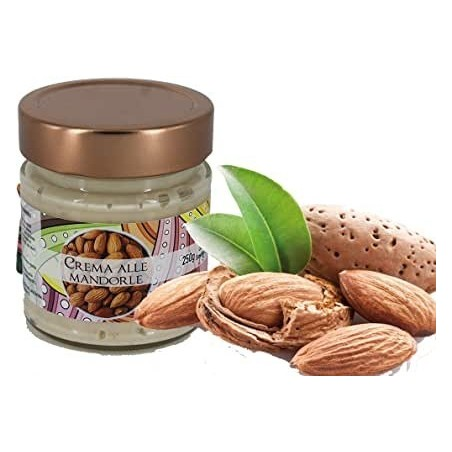 Torchia confectionery almond cream without preservatives and without dyes Gr 250