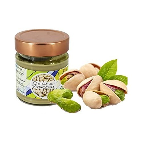 Pistachio cream very high pastry Torchia without preservatives and without dyes Gr 250